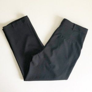 Good Luck Gem Black Pleated Cropped Pants Sz M